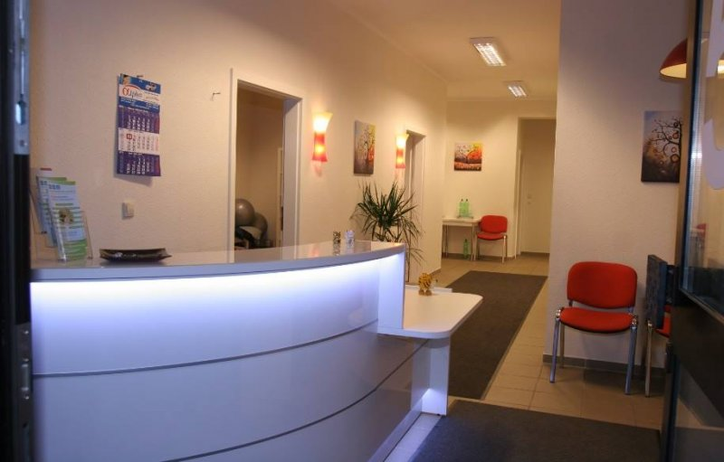 Empfangstheke Physiotherapie Hannover